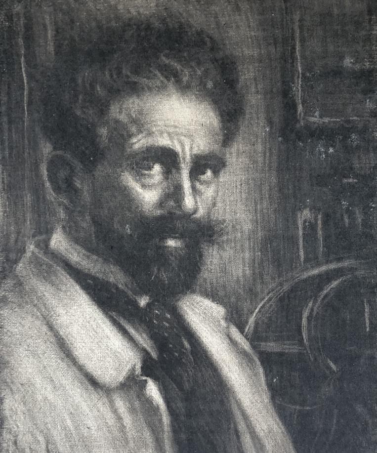 Johann Georg Siehl-Freystett mit 47 Jahren