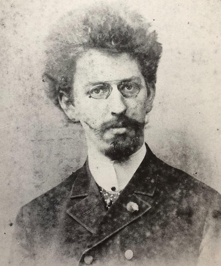 Johann Georg Siehl-Freystett mit 29 Jahren